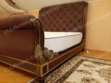 кровать после перетяжки пример 2