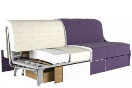 диван в разрезе